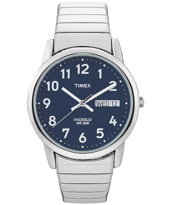 Easy Reader 35mm Stainless Steel Watch with Day Date