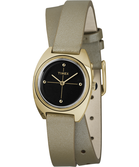 Milano 24mm Double-Wrap Leather Watch