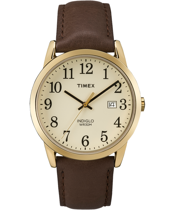 Original Easy Reader 38mm Leather Strap Watch
