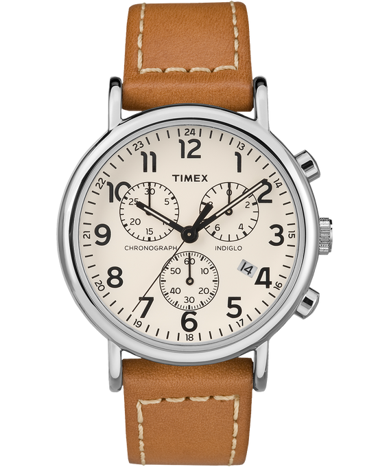 Weekender Chrono 2 Piece 40mm Leather Watch