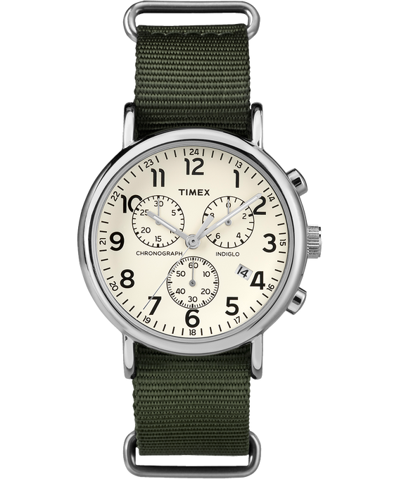 Weekender Chrono 40mm Nylon Strap Watch