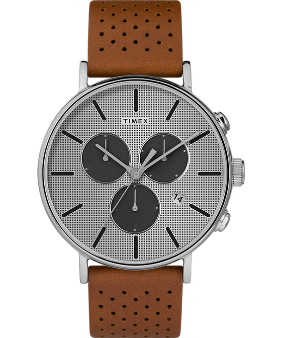 Fairfield Supernova 41mm Leather Strap