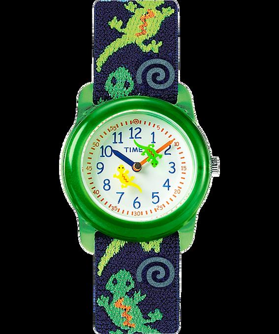 Reloj analógico de 29mm con correa de tela elástica para niños