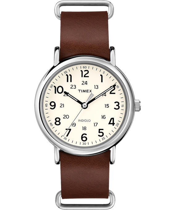 Weekender 40mm Leather Watch