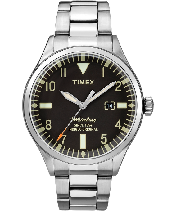 Waterbury Traditional 3 Hand 40mm Stainless Steel Watch