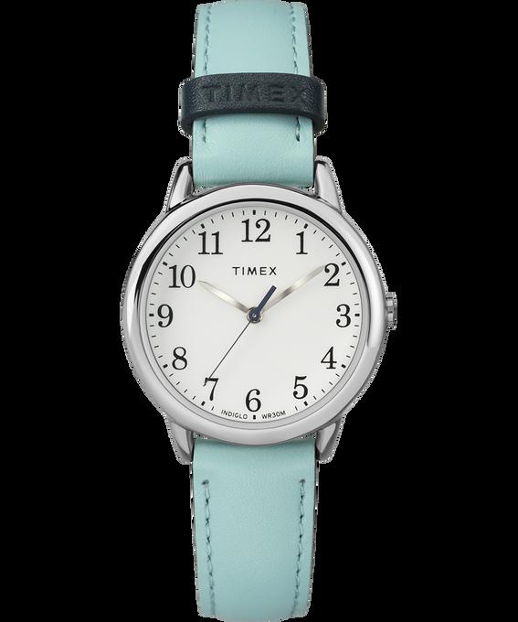 Reloj Easy Reader Color Pop de 30mm con correa de cuero