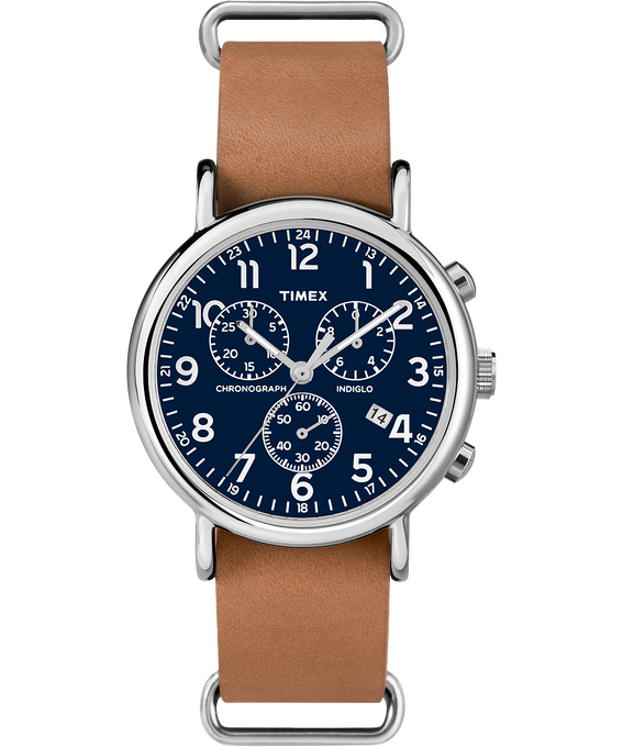 Weekender Chrono 40mm Leather Watch