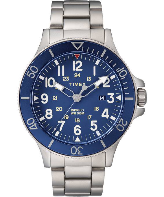 Allied Coastline 43mm Stainless Steel Watch