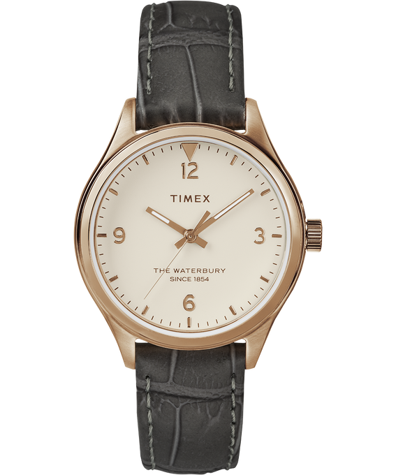 Waterbury Womens 34mm Leather Watch