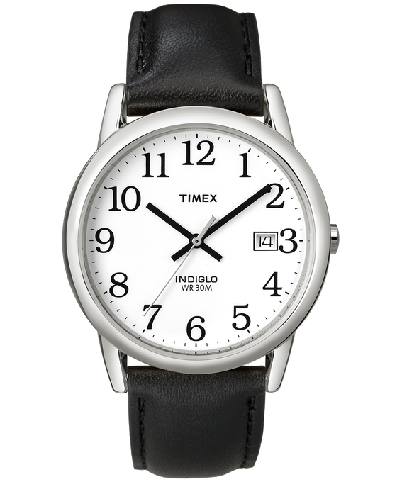 Easy Reader 35mm Leather Watch with Date