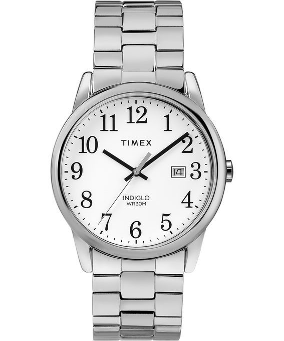 Easy Reader 38mm Stainless Steel Watch Expansion Band with Date