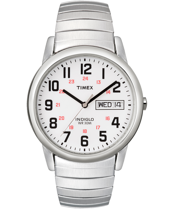 Easy Reader 35mm Stainless Steel Watch Day Date