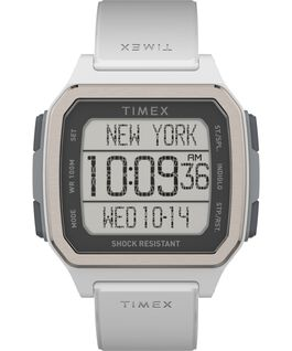 Command Urban 47mm Resin Strap Watch White large