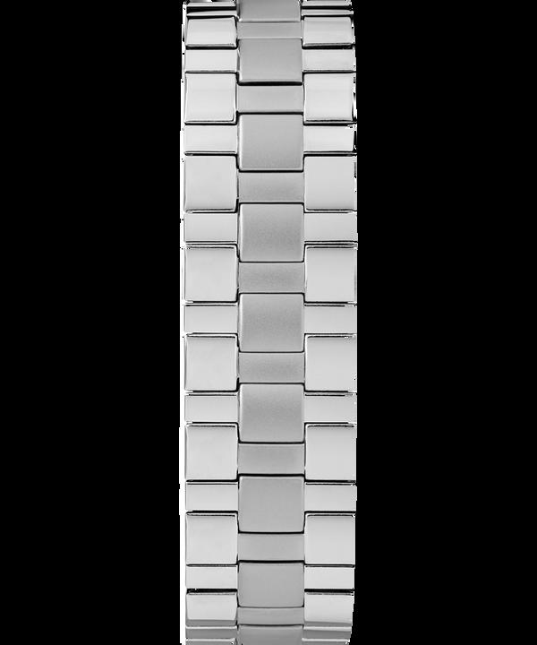 Reloj Easy Reader de 38mm con fecha y correa extensible Chrome/Silver-Tone/White large