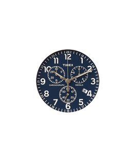 Dial azul/Minutero plateado  large