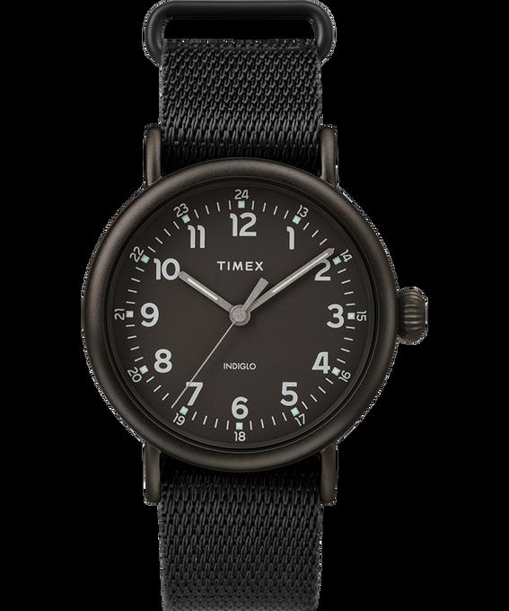 Standard 40mm Fabric Strap Watch Negro large