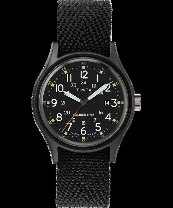 Reloj MK1 de 40mm con correa de tela Black/Black large