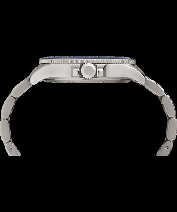 Reloj Allied Coastline de 43mm con correa metálica Silver-Tone/Blue large