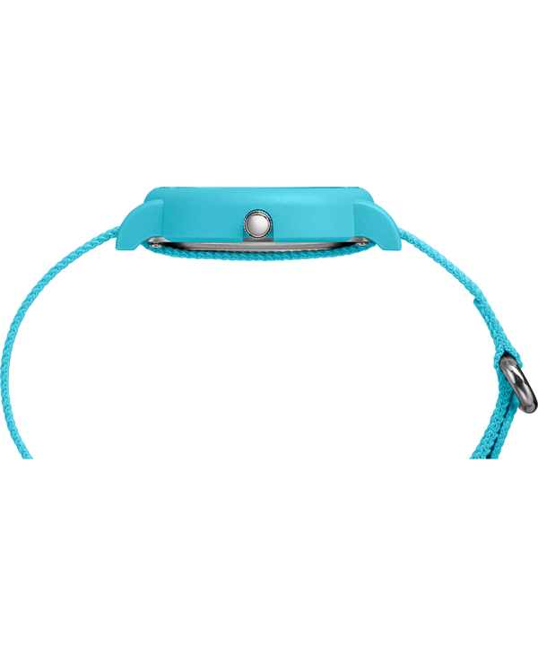 Set de regalo de reloj Weekender Color Rush de 34mm con correa de nylon Blue large