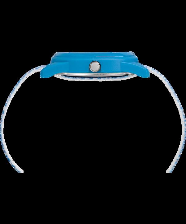 Reloj analógico de 32mm con correa de nylon para niños Blue/White large
