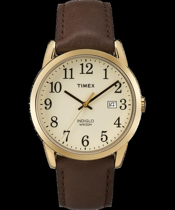 Reloj original Easy Reader de 38mm con correa de cuero Dorado/Marrón/Crema large