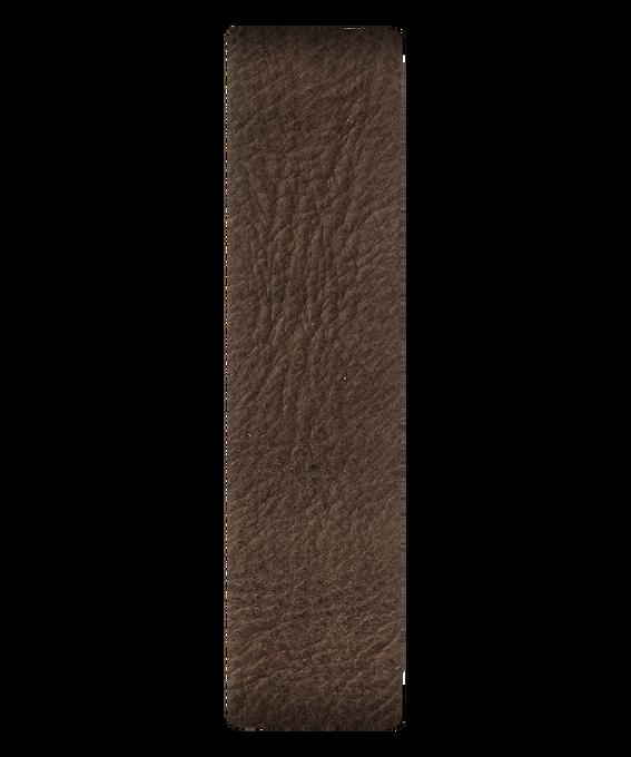 Correa de cuero deslizante marrón  large