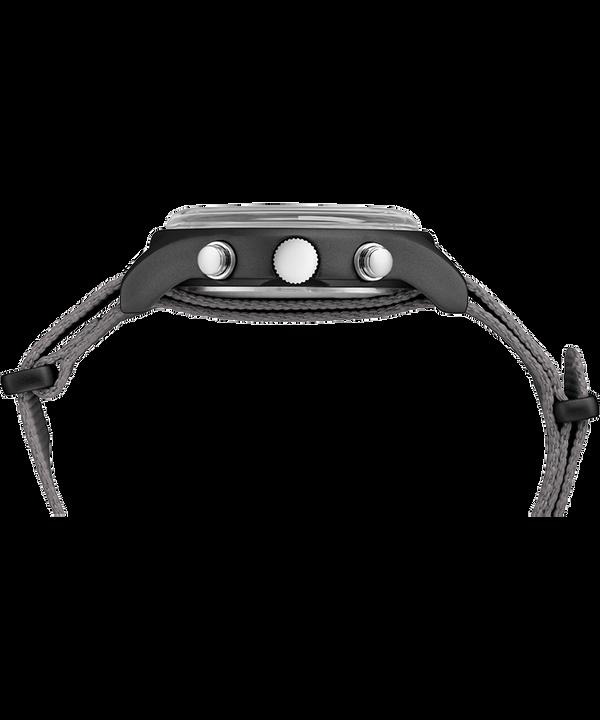 MK1 Aluminum Chronograph 40mm Fabric Strap Watch Gray large