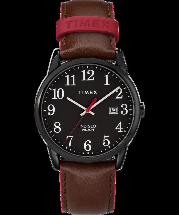 Reloj Easy Reader Color Pop de 38mm con correa de cuero para hombre  large