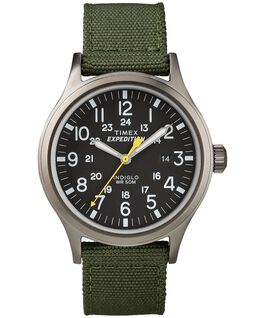 Expedition Scout 40mm Nylon Watch Gray/Green/Black large
