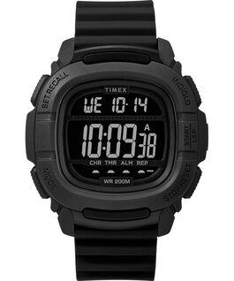 Reloj BST de 47mm con correa de silicona Negro large
