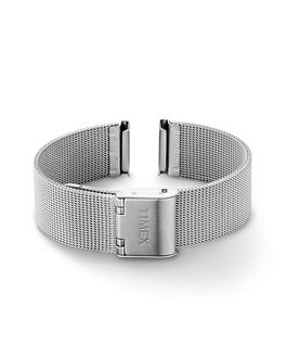 16mm Womens Mesh Band Silver-Tone large