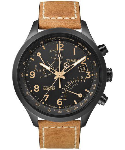 91338407e7ca Reloj cron oacute grafo con segundero Intelligent Quartz reg  de 43 nbsp mm  con correa de
