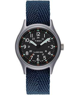 Reloj MK1 de 40mm con correa de tela Azul large