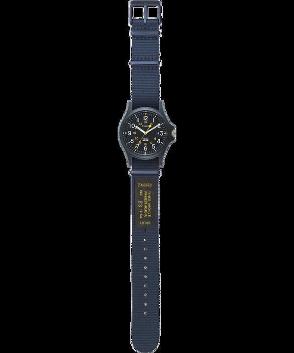 Reloj Arcadia de 40mm con correa de otomán Azul large