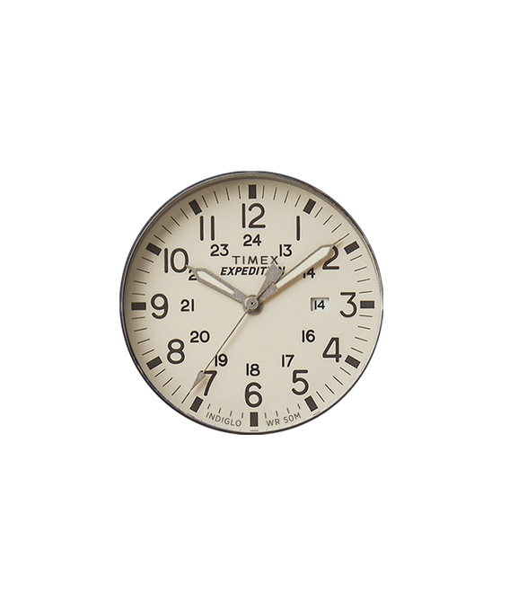 Dial natural/Minutero gris  large