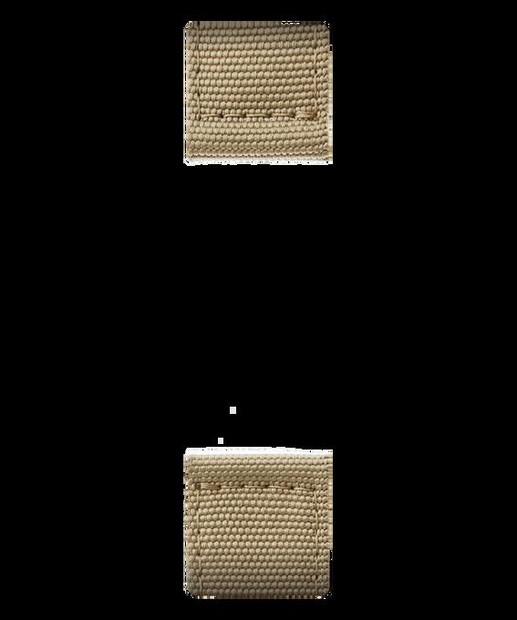 Correa de nylon dorada de dos piezas  large