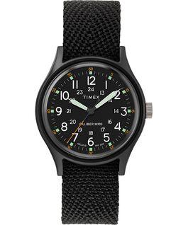 Reloj MK1 de 40mm con correa de tela Negro/Negro large
