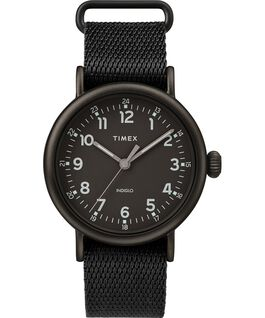 Reloj Standard de 40mm con correa de tela Negro large