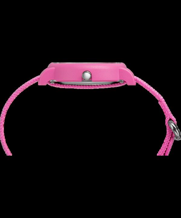 Set de regalo de reloj Weekender Color Rush de 34mm con correa de nylon Pink large