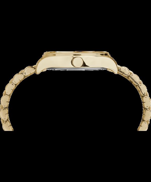 Reloj Waterbury Traditional de 34mm con correa metálica de acero inoxidable Gold-Tone/Black large