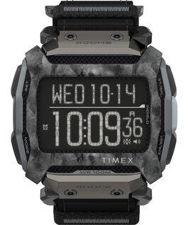 Reloj Command Shock de 54 mm con correa de tela de cierre rápido Negro large