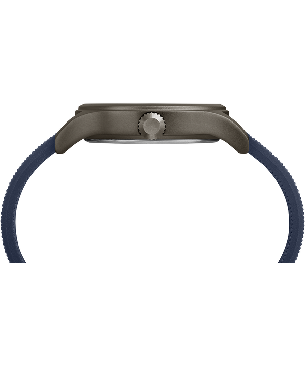 Reloj Allied de 40mm con correa de silicona Gray/Blue large
