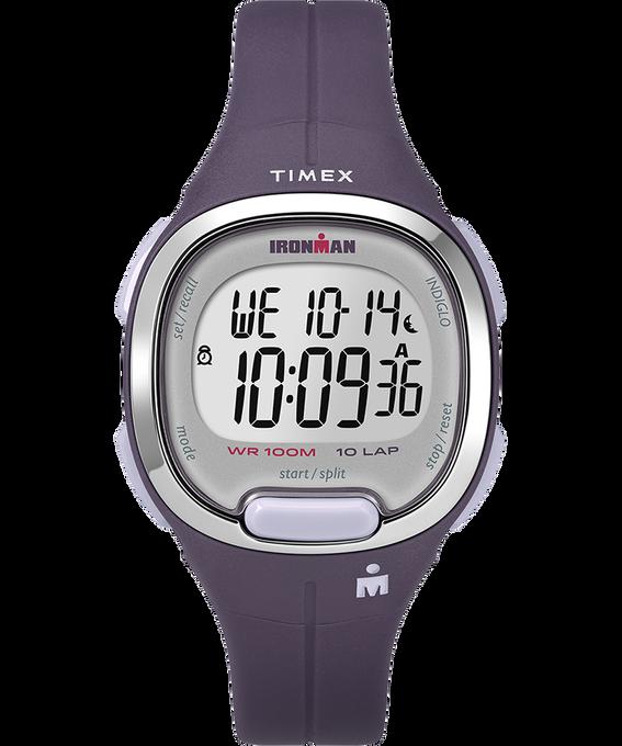 Reloj Ironman Transit 10 de tamaño mediano de 33mm con correa de resina Morado/Plateado large