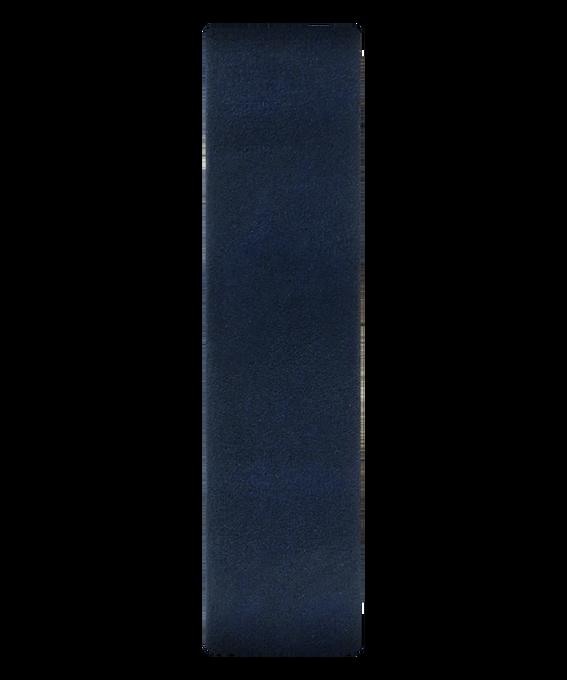 Correa de cuero color azul deslizante  large