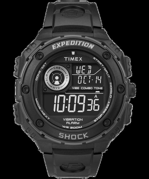 Reloj Expedition Vibe Shock de 50mm con correa de resina Black/Gray large