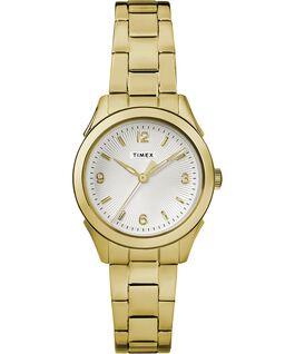 Reloj Torrington de 27mm para mujer con tres manecillas y correa metálica Dorado/Plateado large