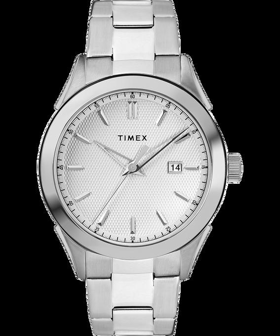 Reloj Torrington para hombre de 40mm con correa metálica Acero inoxidable/Plateado large