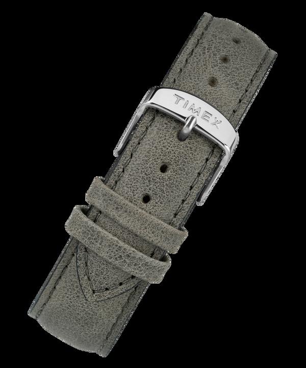 Correa de cuero de 20mm de cambio rápido Gray large