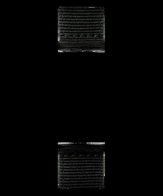 Correa de nylon color negro de dos piezas  large