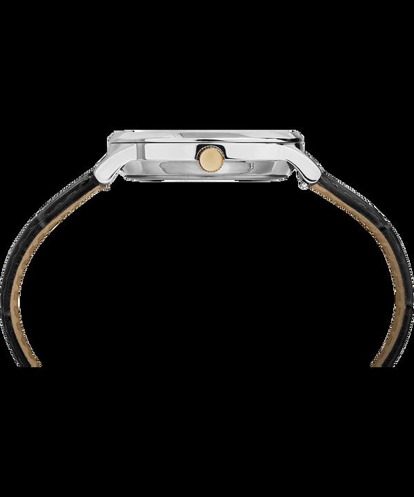 Reloj Classic Waterbury de 36mm con correa de cuero Stainless-Steel/Black/White large